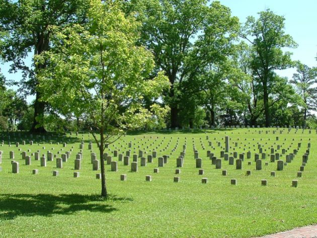 Shiloh National Cemetery Ernest Mettendorf)