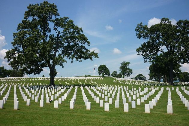 Chattanooga National Cemetery, where many of those who died at Chickamauga are buried (Robert Rynerson)