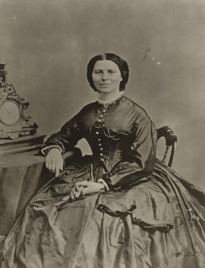 Clara Barton (Library of Congress)