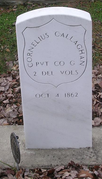 Cornelius Callahan Grave