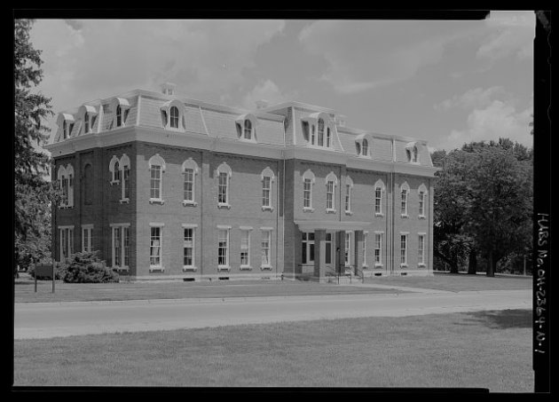 National Home for Disabled Volunteer Soldiers, Dayton, Ohio (Library of Congress)